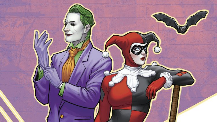bat vs joker and harley