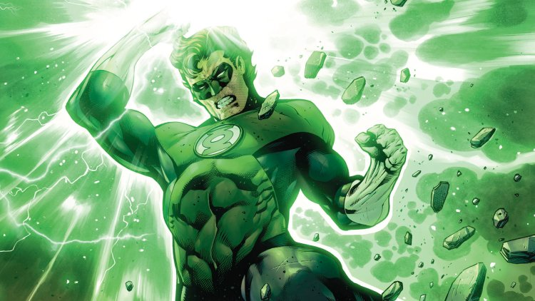 green lantern shatters