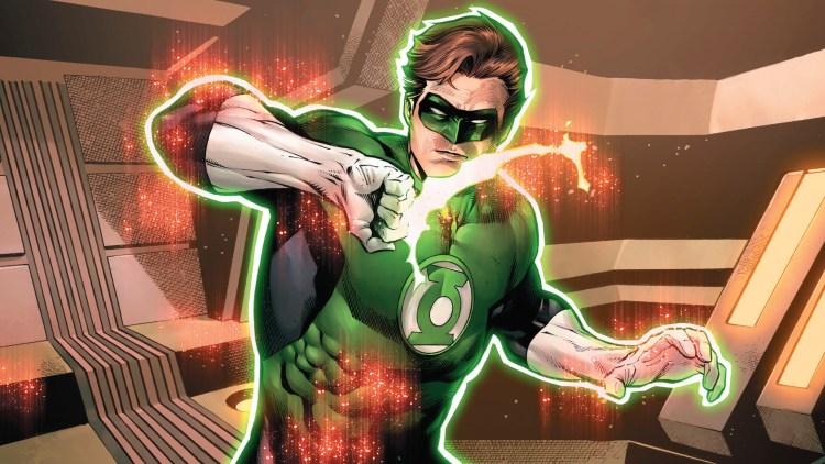green lantern shield