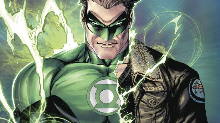 green lantern uniform change