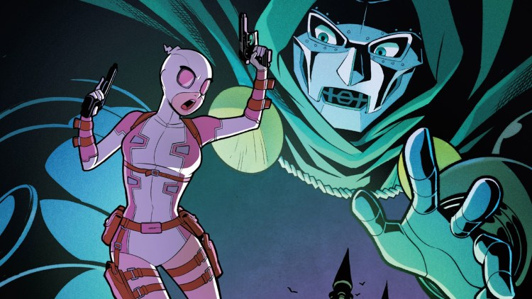 gwenpool visiting doctor doom