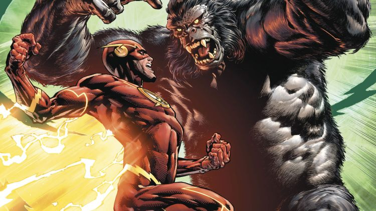the flash vs grodd