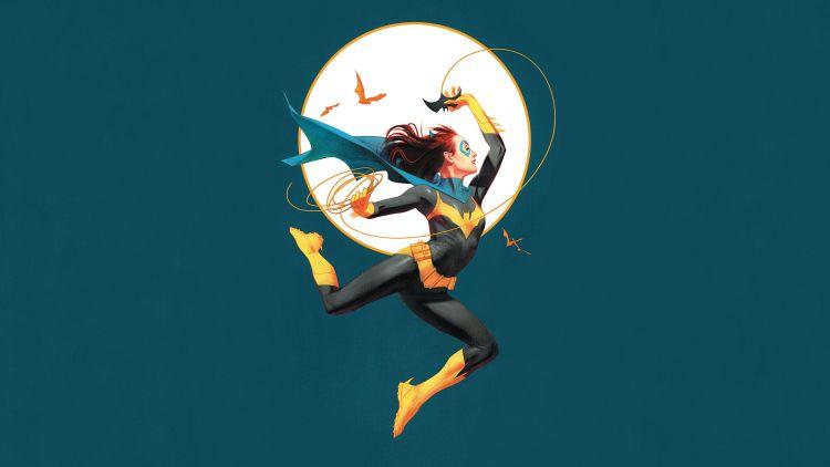 Batgirl and her bat rope