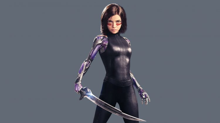 Battle Angel with Sword