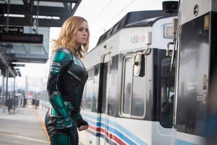 Captain Marvel is aqua