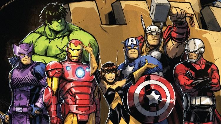 Fuzzy Avengers