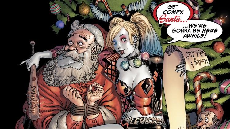 Get Comfy Santa