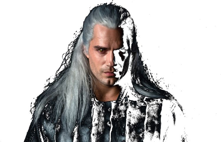 Henry Cavill as Geralt the Witcher