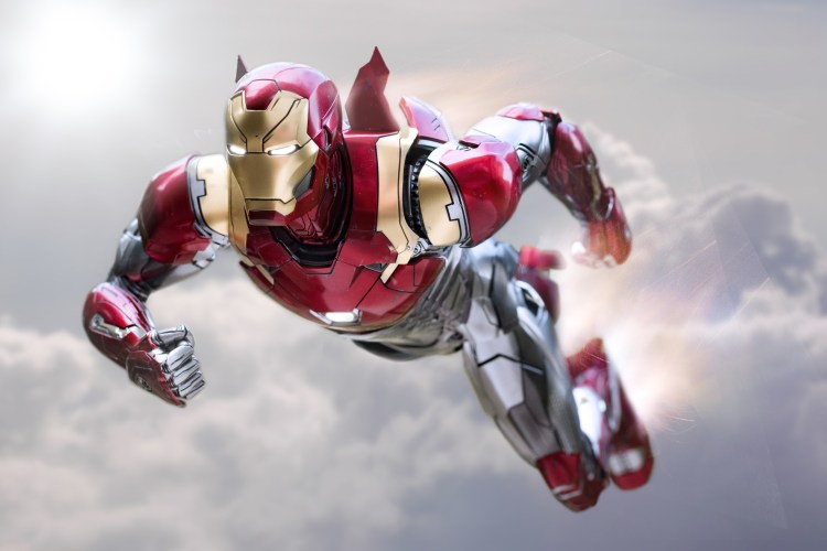 Iron man Leaping