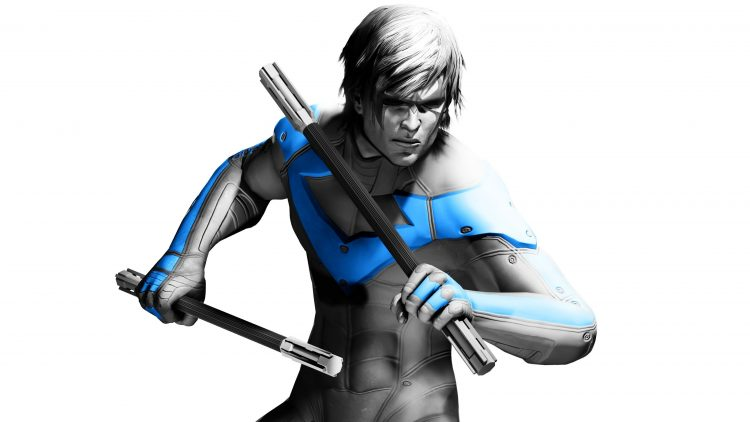 Nightwing in white