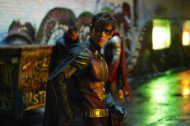 Robin from Titans