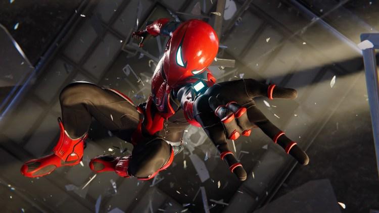 Spider-man armor