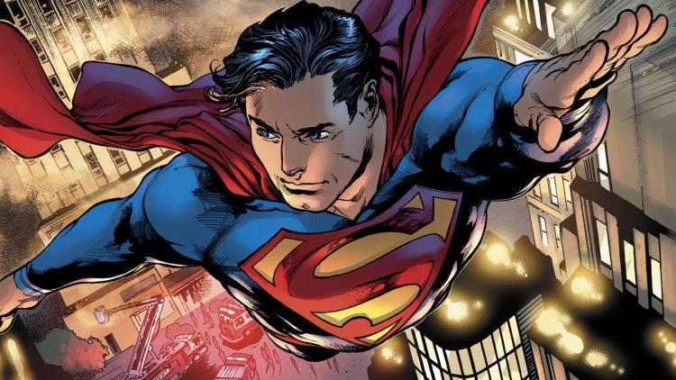 Superman has blue eyes