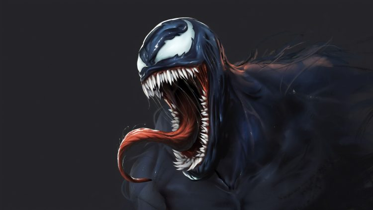 Venom laughing