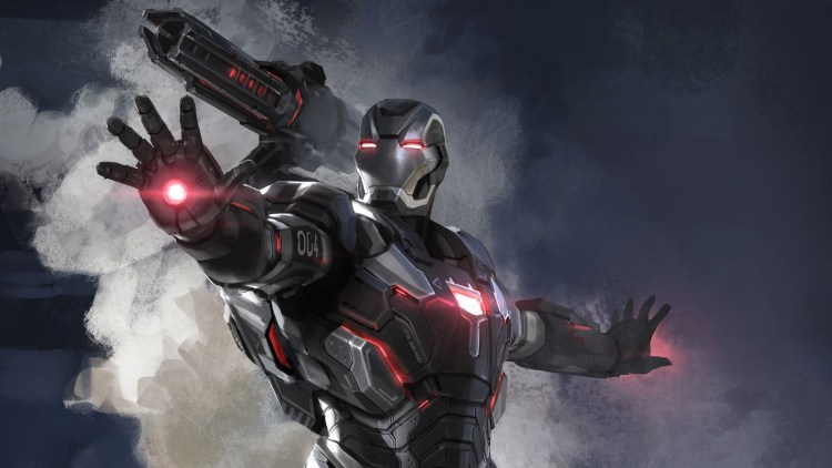 War Machine with large shoulder Cannon
