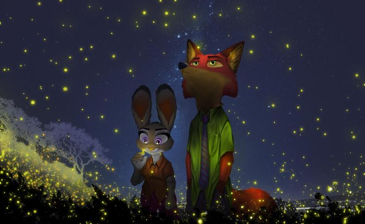 Zootopia Lightning Field