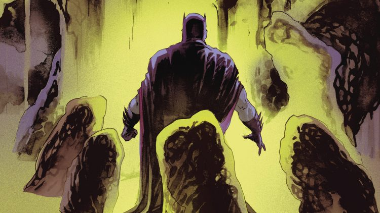 batman in cave