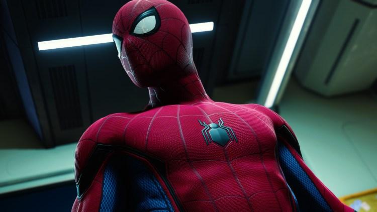spider-man is high resolution