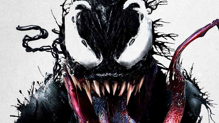 venom's white eyes