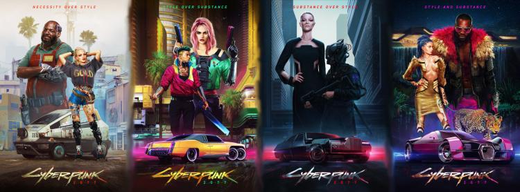 CyberPunk 2077 Posters