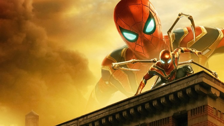Iron Spider on the Iron building
