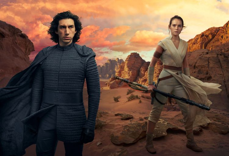 Kylo and Rey, Sitting In A Tree