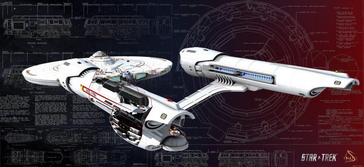 Star Trek cutaway