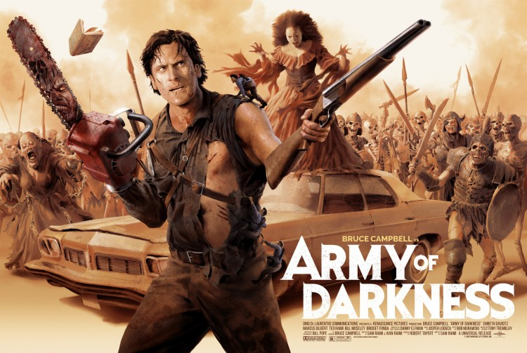 Army of Darkness movie poster wallpaper