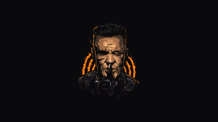 Cable says Shh