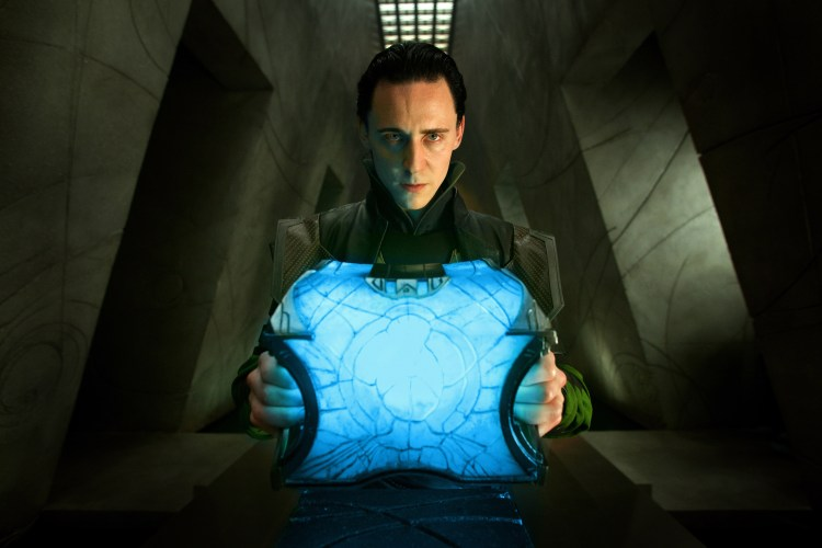 loki and a ice box