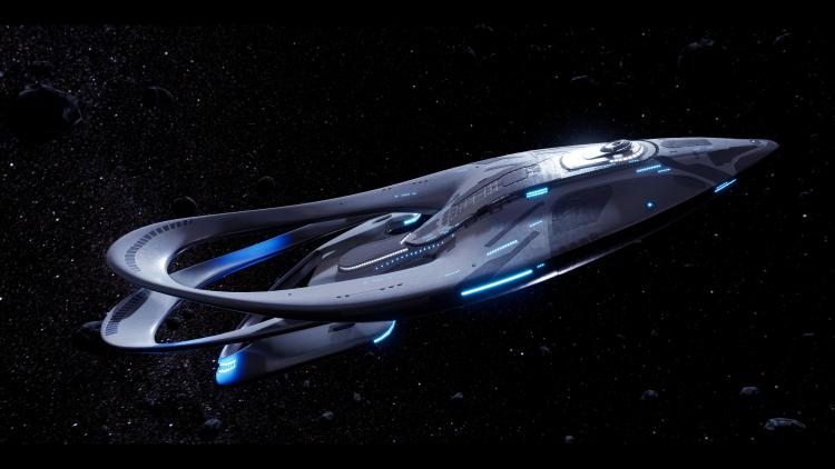 The Orville in motion
