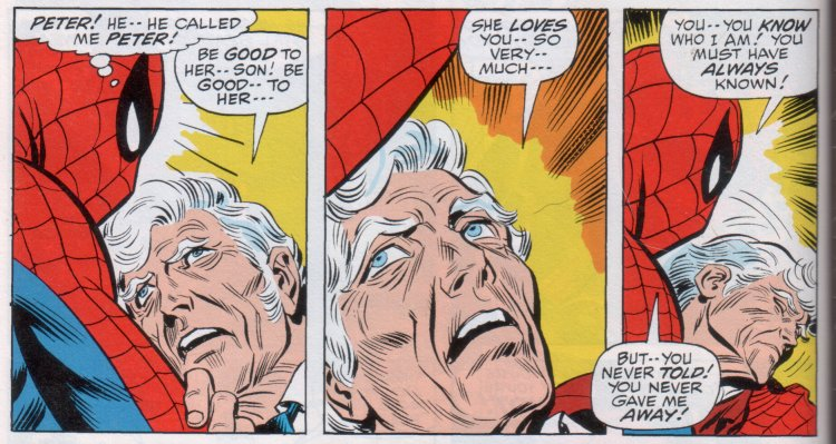 aunt may knew