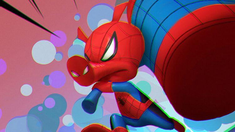 Spider-man with hammer