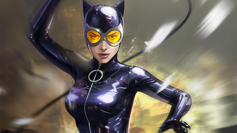 Catwoman with Whip