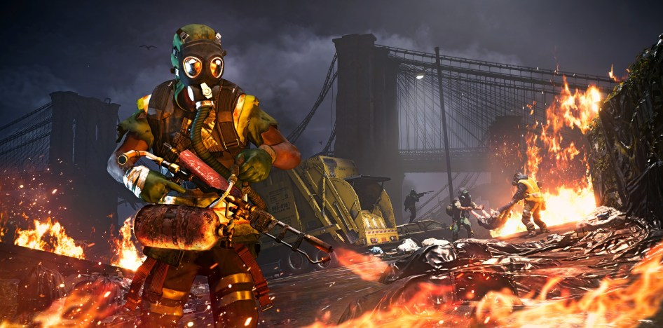 Division Flamers Cleaning Up The Streets of NYC