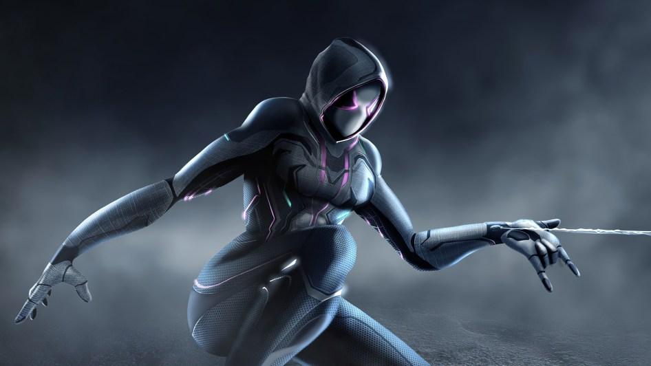 Spider-Gwen is Cybernetic