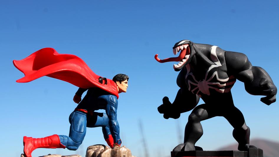 superman v venom