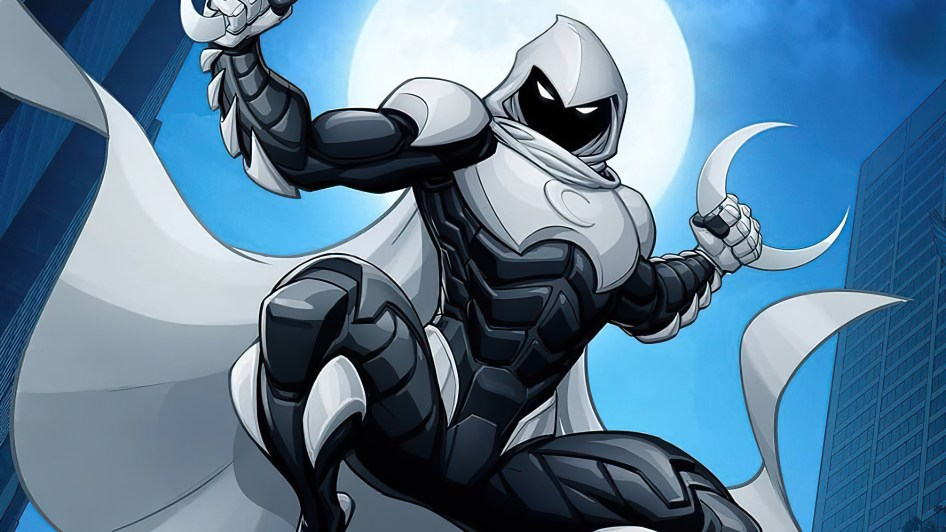 moon knight aleaping