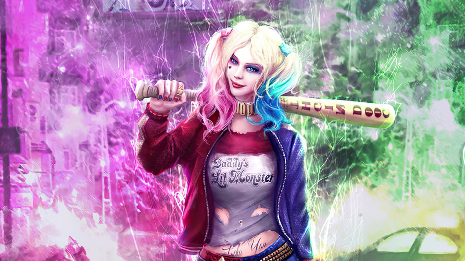 harley has a bat