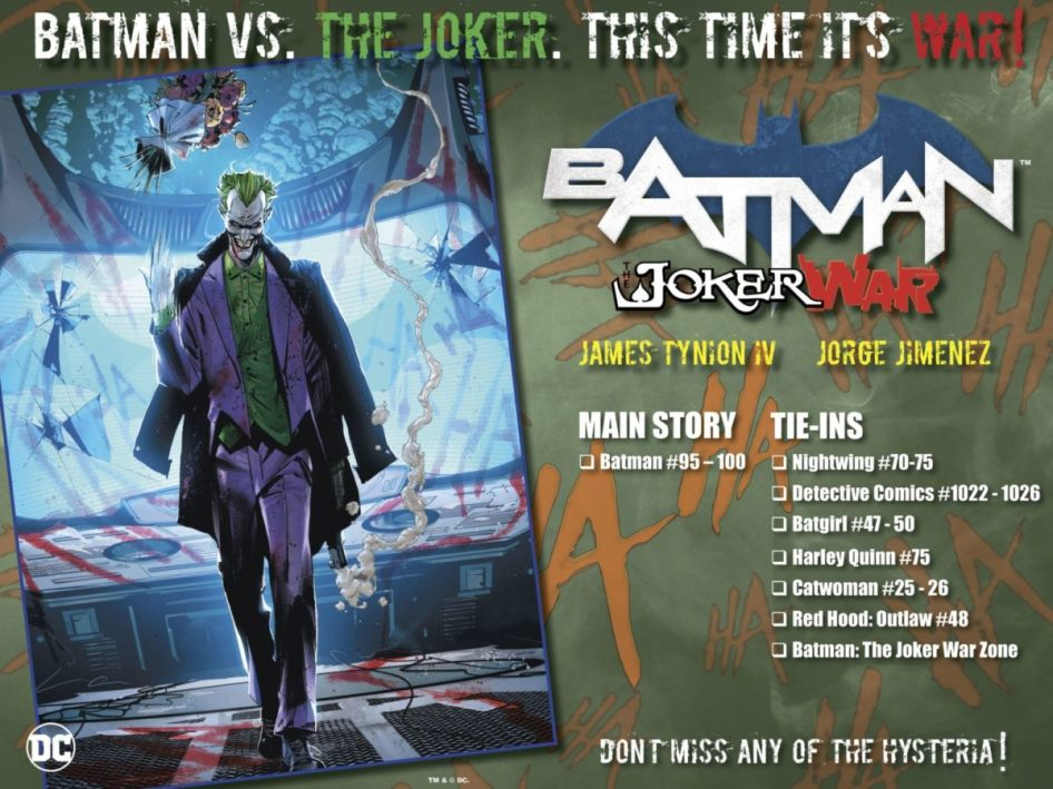 Batman The Joker War