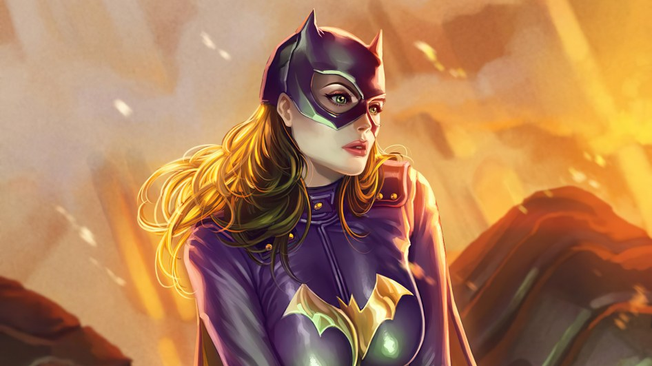 batgirl has great hair