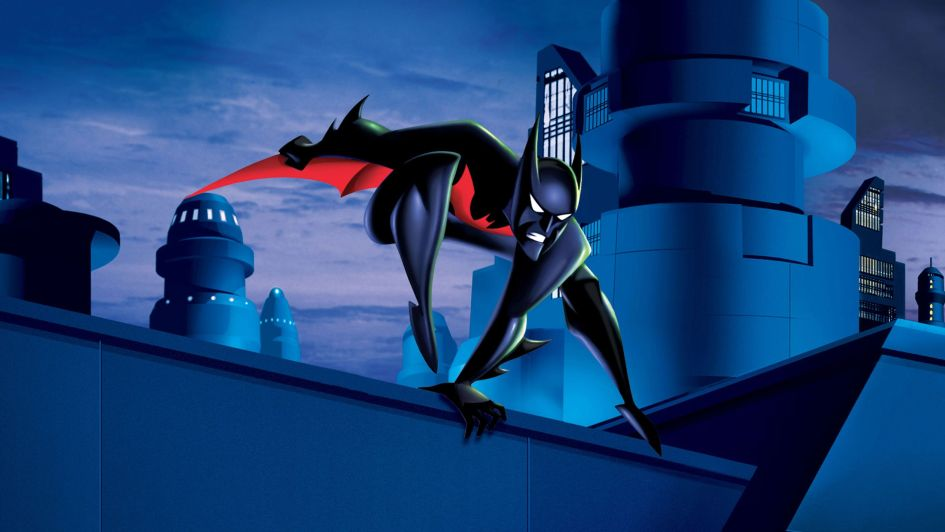 batman beyond on a ledge