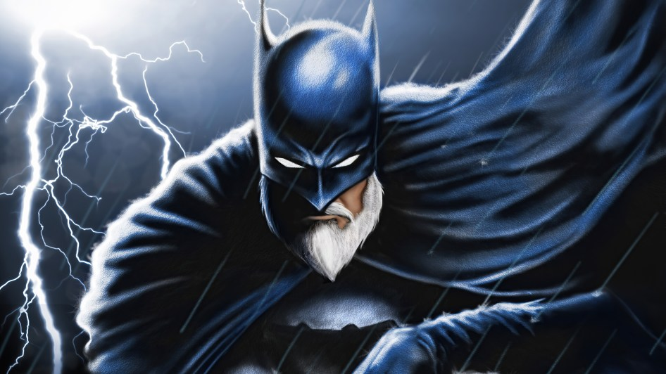 batman with beard