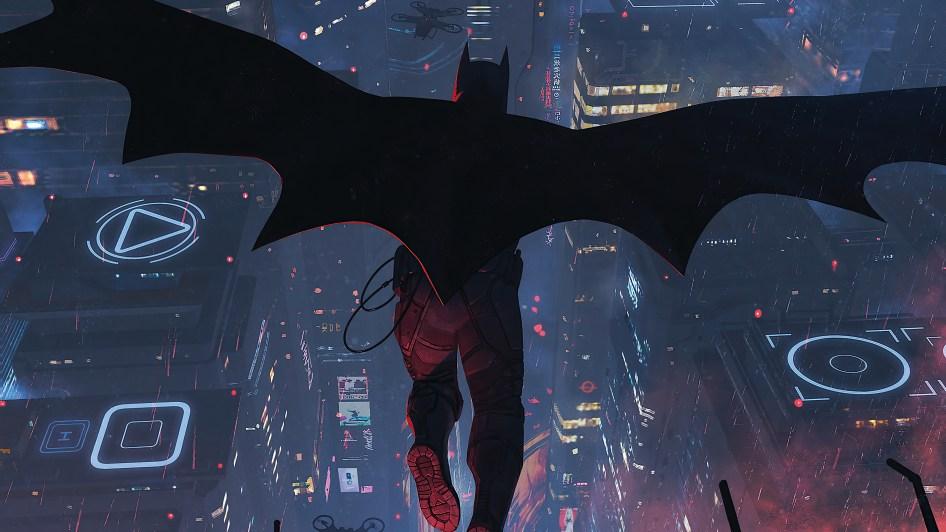 A batman leap