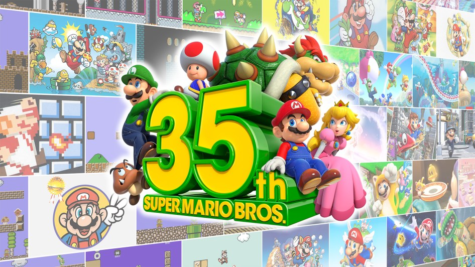 Super Mario Bros 35th Anniversary Wallpaper