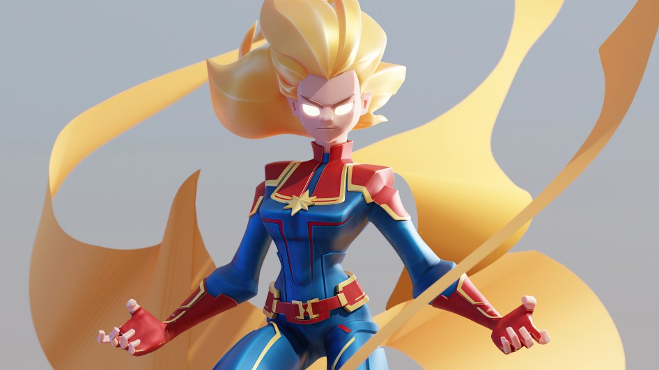 awesome captain marvel