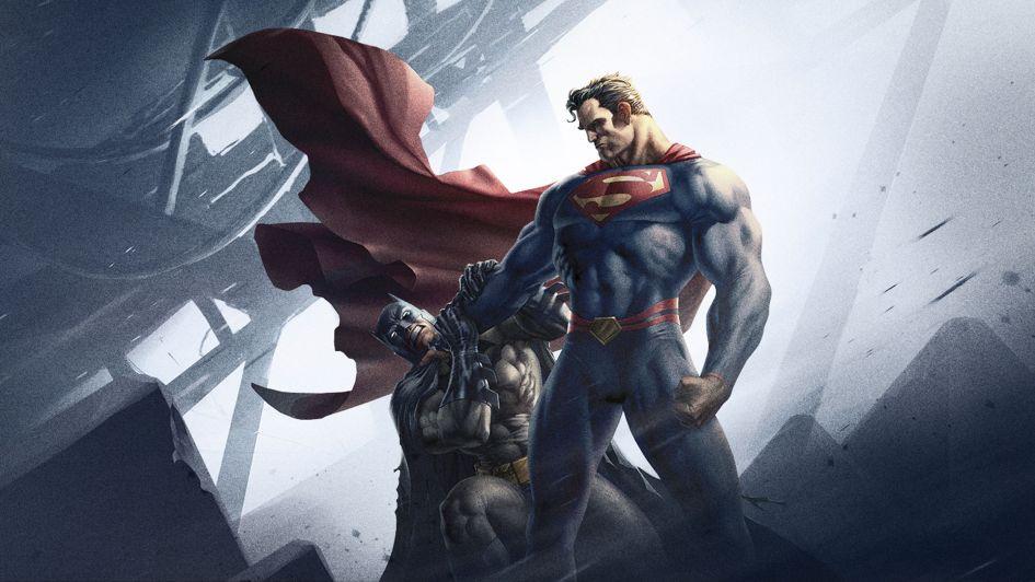Superman killing Batman