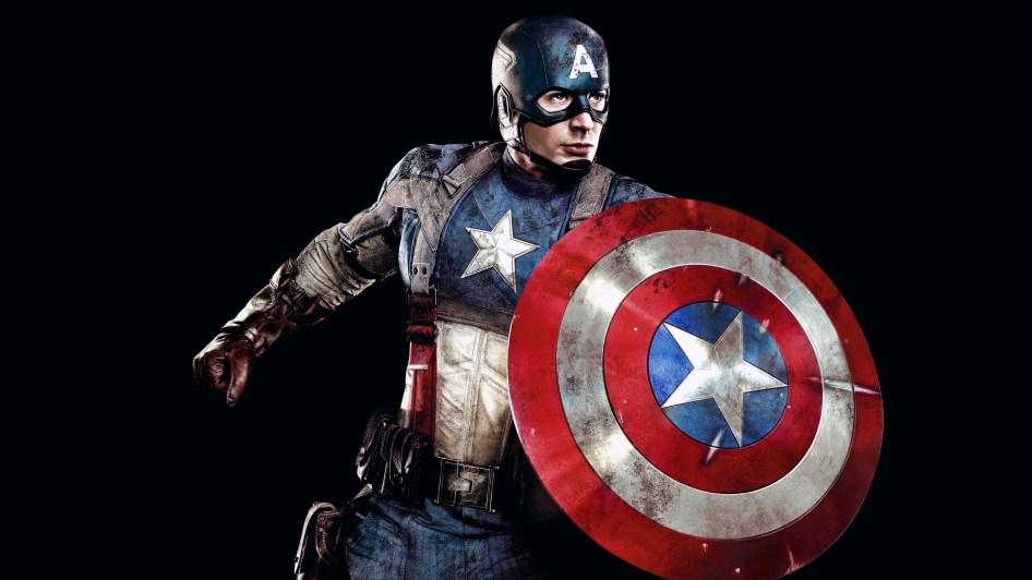 Captain America's Battle Scarred Shield