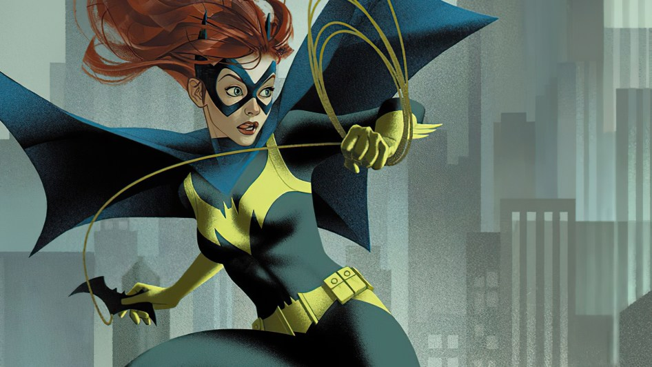 Batgirl about to throw