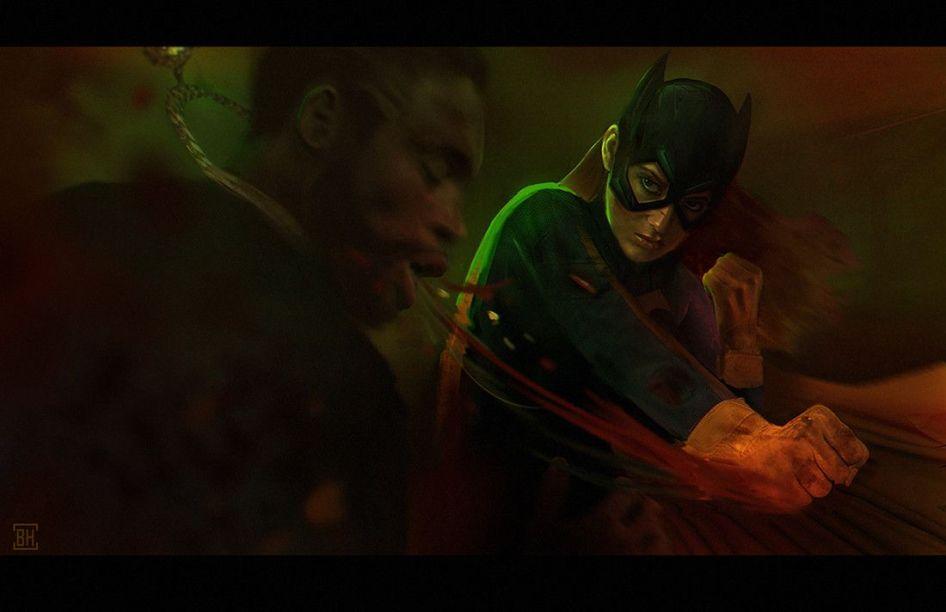 Batgirl by Bobby Hernandez